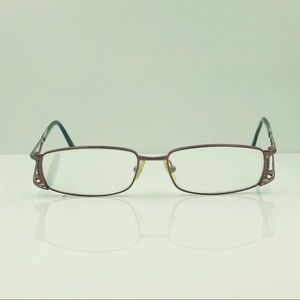 Versace Purple Oval Sunglasses Frames